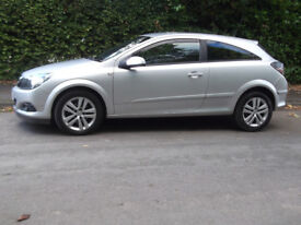 VAUXHALL ASTRA 1.4 SXI 3 DOOR 2008 58 LOW MILEAGE