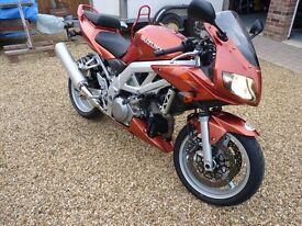 Suzuki SV 1000 - Bronze - 19k - 2003 - Great Condition