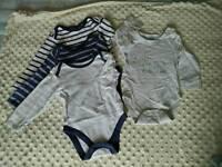 Baby boy long sleeved vest 6-9 months