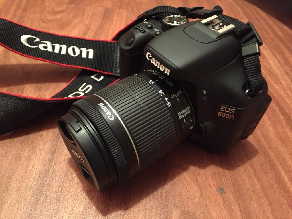 Canon 600d perfect condition