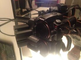 Sony A37 body only for sale MANUAL FOCUS ONLY