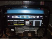 2.3Kva (240V ONLY) PRO-USER 4 STROKE PETROL GENERATOR WITH LOW OIL SHUTDOWN
