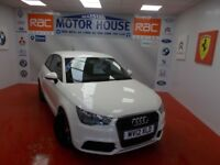 Audi A1 TFSI SE(ONLY 25000 MILES) FREE MOT'S AS LONG AS YOU OWN THE CAR!!! (white) 2012