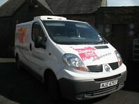 Renault Trafic Van with GAH chiller unit, fully insulated, external socket,fully serviced, MOTd