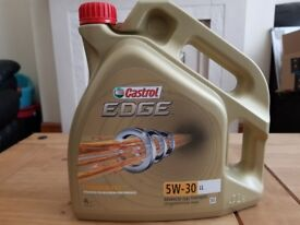 *Brand New* 5W 30 Castrol Edge - Fully Synthetic Engine Oil For BMW / Mercedes / Audi