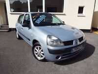Renault clio 1.2 expression, Long MOT, HPI CLEAR, WARRANTY, LOW MILES