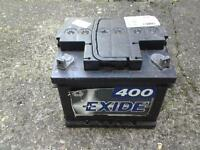 EXIDE SQUARE POLE FORD BATTERY 40 AMP HOUR