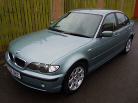 2002 BMW 318I SE AUTO LOW MILEAGE!!!!!