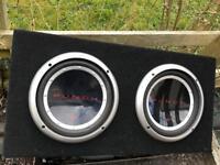 Car subwoofer boom box