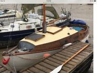 Classic yacht sail boat