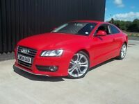 2008 (58) Audi A5 1.8 TFSI Coupe, 2 Keys Full Service History Great Spec Finance Available May PX