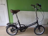 "GREAT FOLDING BIKE..""CLAUD BUTLER""..16"" WHEELS...GREAT CONDITION.READY TO RIDE AWAY TODAY."