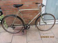 mens vintage Raleigh esprit 5 speed sport bike 22inch frame £59.00