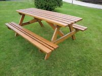 6FT (1.8m) Picnic Table
