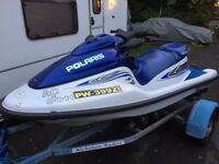 polaris 3 seater jet ski great condition lots of money spent on it trailer included