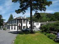 Commis chef required to join a busy award winning county house hotel in the Lake District