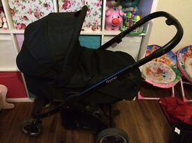 Oyster 1 pram with carry cot and raincover