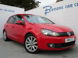VOLKSWAGEN GOLF 2.0 TDi 140 GT DSG Auto (red) 2011
