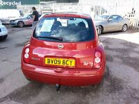Nissan Micra 2009 Full Service History 79k miles