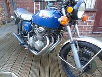 Honda CB400f four (400/4) Supersport Barn find restoration 1976