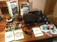 Xbox 360 (250GB) Family Bundle. Inc 50 Games Skylanders, Disney Infinity Lots aged 16 & 18