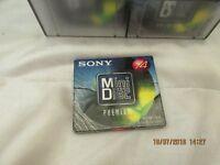 Minidisc Sony MDW74 blank wrapped
