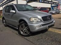 """MERCEDES ML 270 CDI """"""""05 PLATE """""""" 20 INCH AMG ALLOYS!!!7 SEATER"""