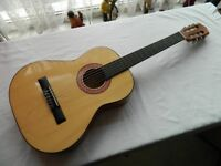 Child Size Acoustic Guitar with New Strings, Tuner & Bag VGC