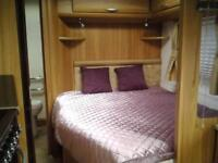 LUNA CLUBMAN SE 2011 4 berth fixed bed £10100 with motor mover