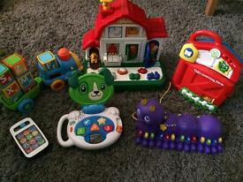 Vtech. Leap Frog. Chicco. Baby toys bundle.