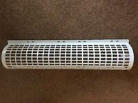 2 FOOT TUBULAR HEATER GUARD COVER WHITE BRAND NEW
