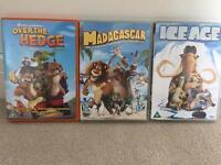 3 family kids DVDs