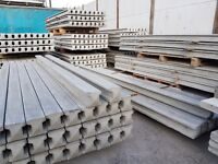concrete fence posts, gravel boards and heavy duty fence panels