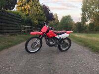 SKYTEAM ST125Y 4 STROKE MOTORCROSS MOTORBIKE OFF ROAD ELECTRIC START