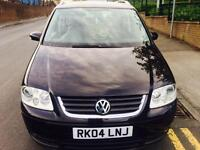 Volkswagen Touran 2.0 TDI PD SE MPV 5dr (7 Seats) p/x welcome FULL LEATHER+1 YR MOT+S/HISTRY