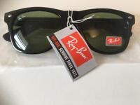 Ray ban sunglasses black new with tags