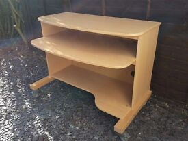 PC / Office Desk in beech finish, can be delivered...