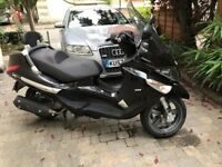 Piaggio Xevo 125. Low Mileage. Still under warranty. Recently serviced.