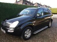 2006 SAANGYONG REXTON RX270=jeep=4x4 SX 7= SEATER= STUNNING LOOKS