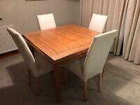 Multiyork solid oak dining table