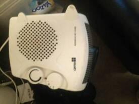 Electric heater/fan
