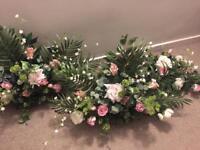 Stemz and Gems wedding flower arrangement