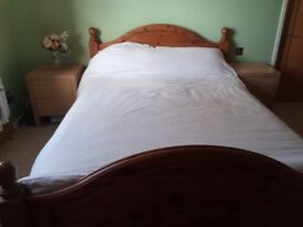 Quality solid pine bed for sale