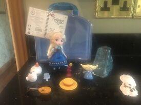 Disney animators collection Elsa mini doll playset