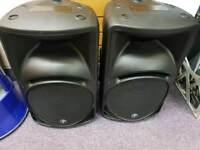 Mackie srm450v2 speakers
