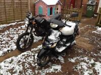 X2 motorbike