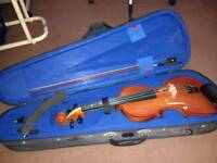 Violin 3/4 size, barely used