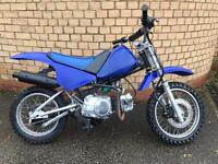 Py 90 90cc semi auto 4 speed kids mx bike motorcross not pitbike