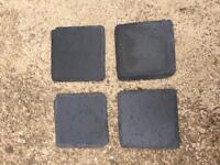4 Slate Coasters
