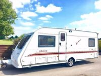 Elddis Odyssey 4 Berth Caravan With Fixed Bed And Motor Mover